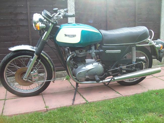 1978 Triumph Bonneville Project