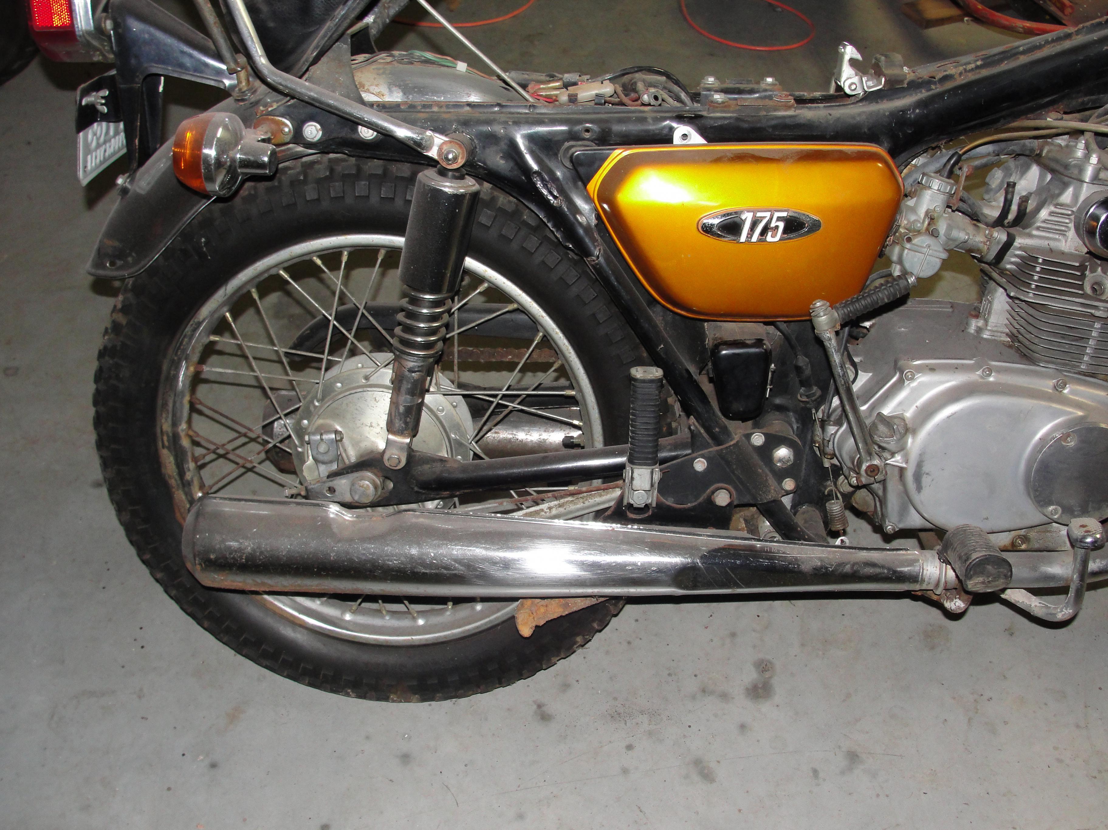 Name: 1970 Honda CB175 1.jpg Views: 5604 Size: 1.04 MB