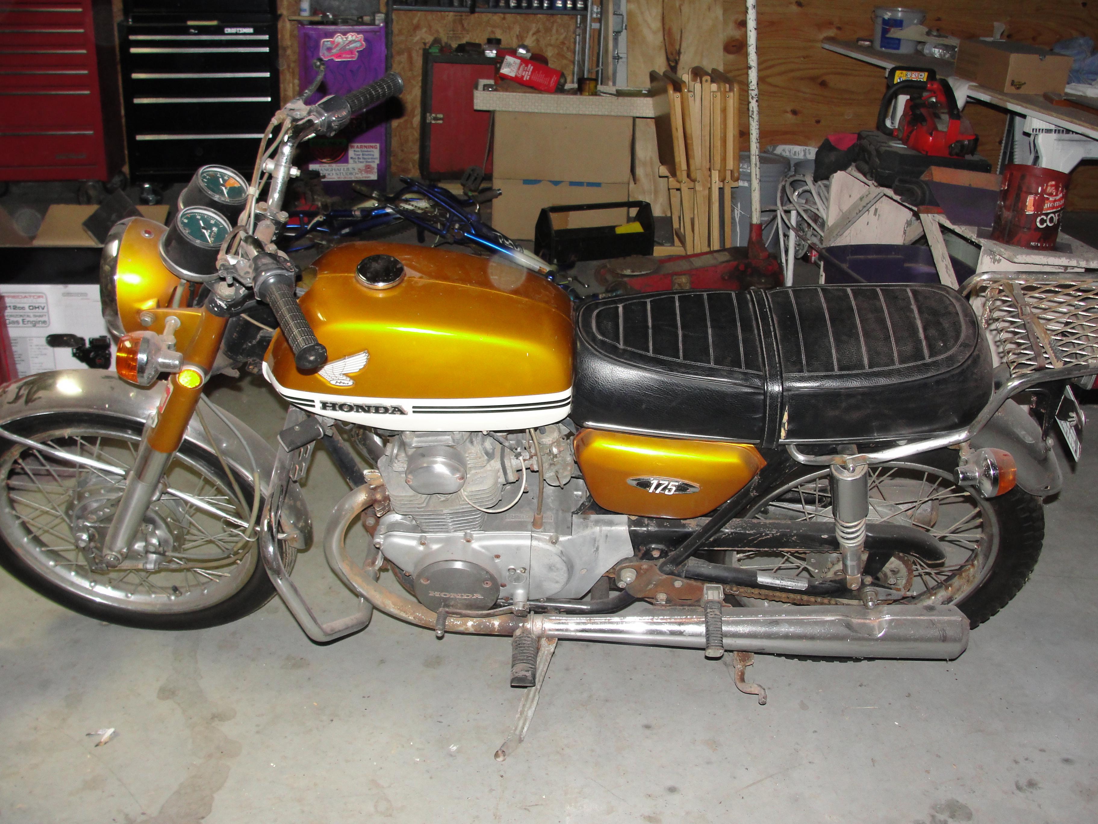 Name 1970 Honda CB175 13 Views 1847 Size 101 MB