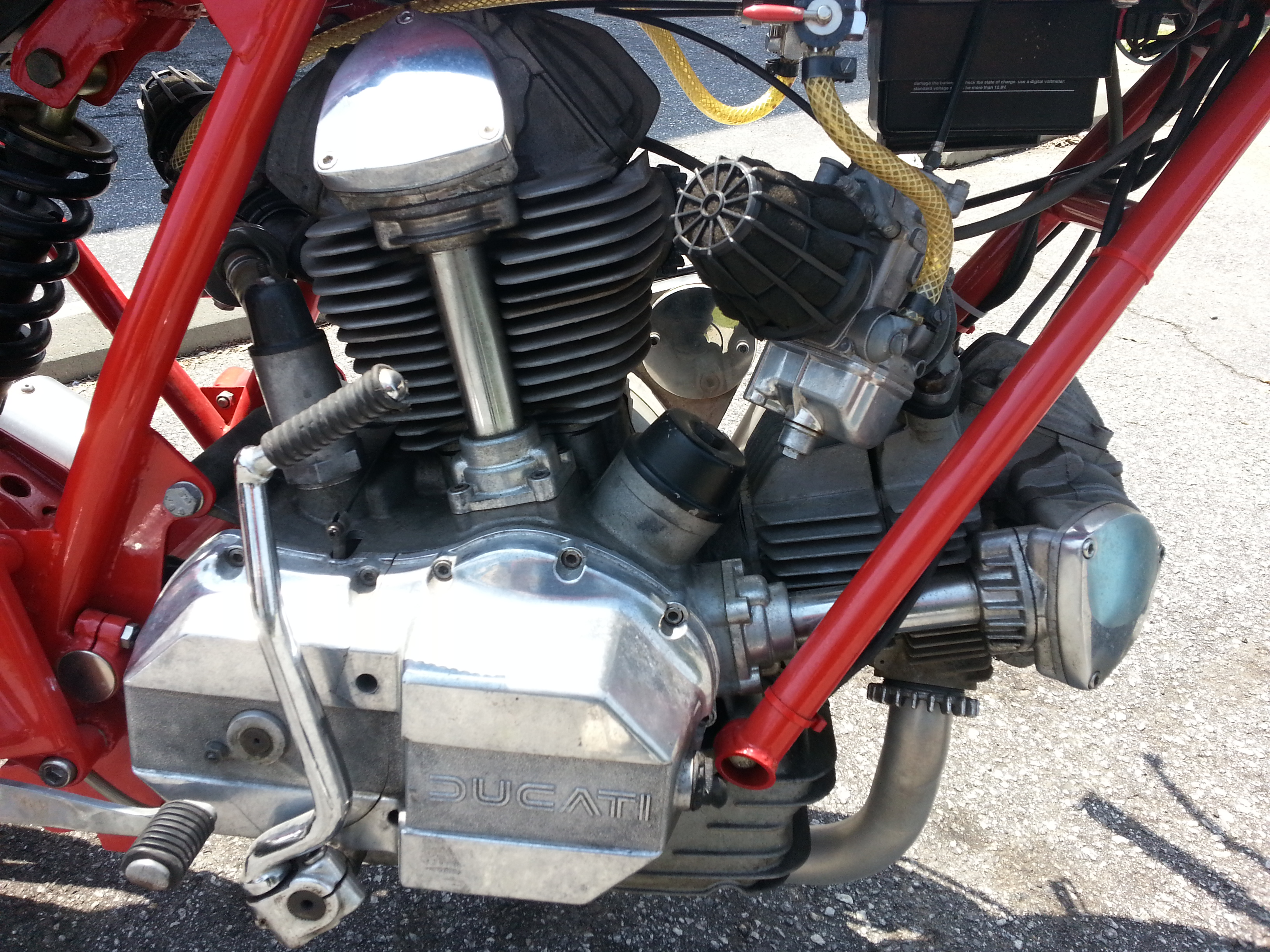 1973 Ducati 750 860 Cafe Racer Street Tracker Cant Decide What Im Wiring Harness Attached Images