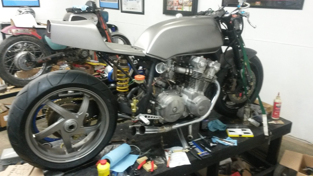 Honda Of Russellville >> Fork and swingarm chop and build cb750 - Page 4