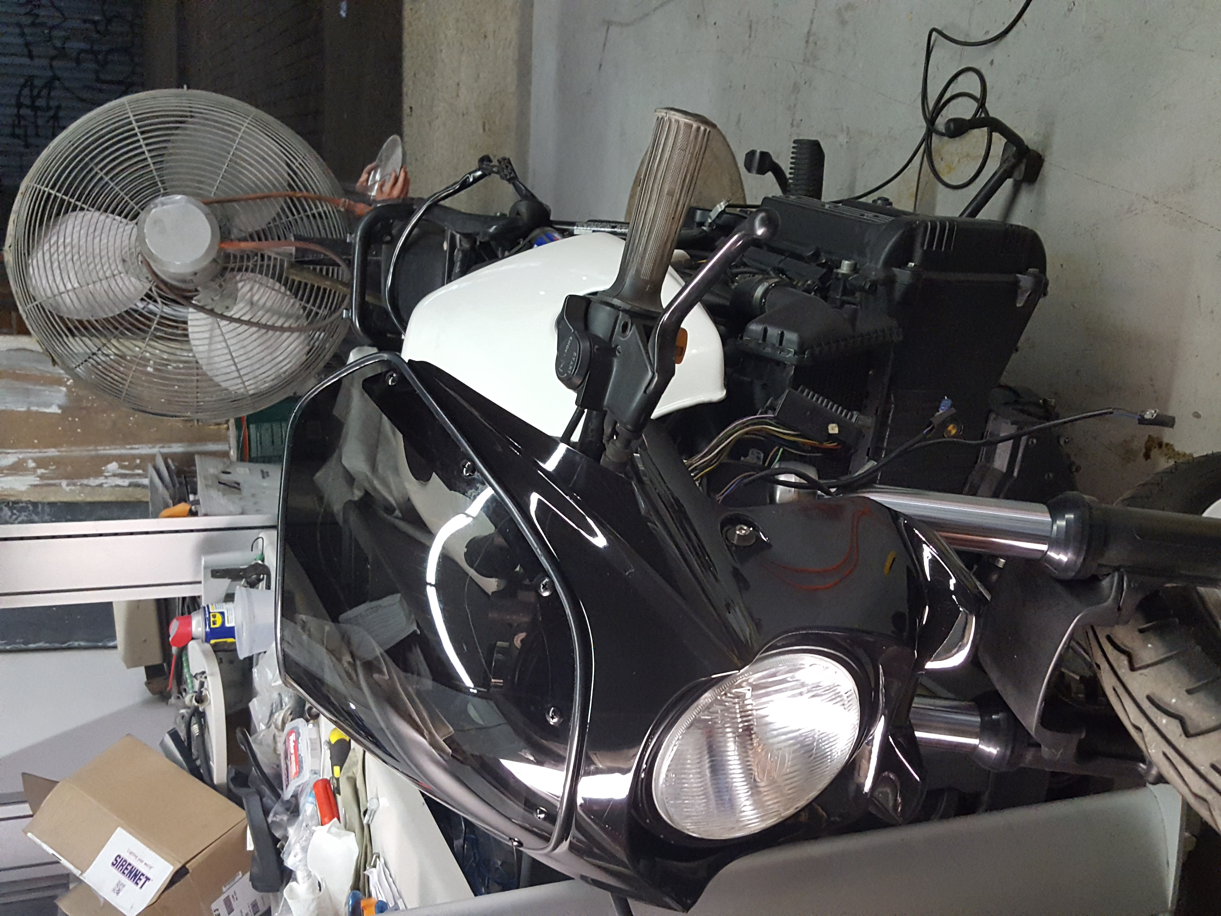 My Bmw K100 Project Belgium Battery Wiring Harness K100lt Attached Images
