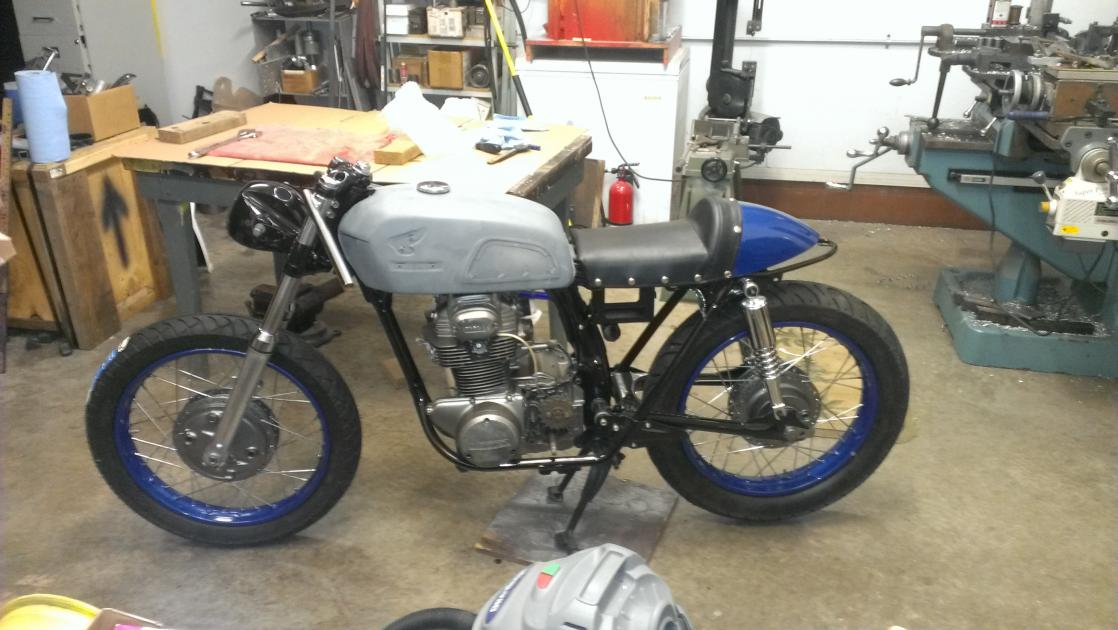 35MM forks options for a CB350? - Page 2