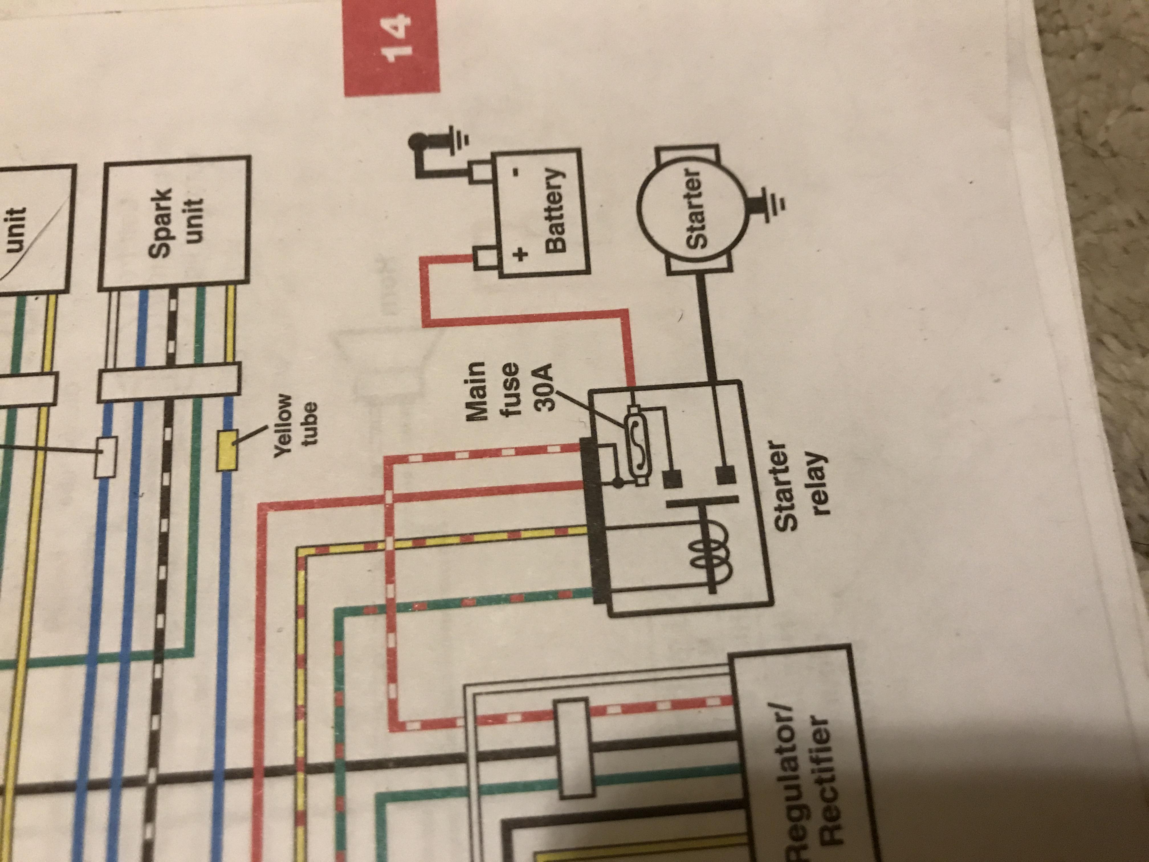 1982 cb750 ignition solenoid wiring help Chevy Starter Wiring Diagram