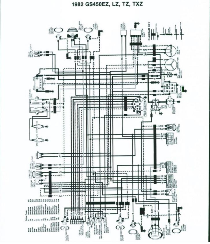 1982 Suzuki GS450 wiring help | Cafe Racer Forum | Gs450 Wiring Diagram |  | Cafe Racer Forum