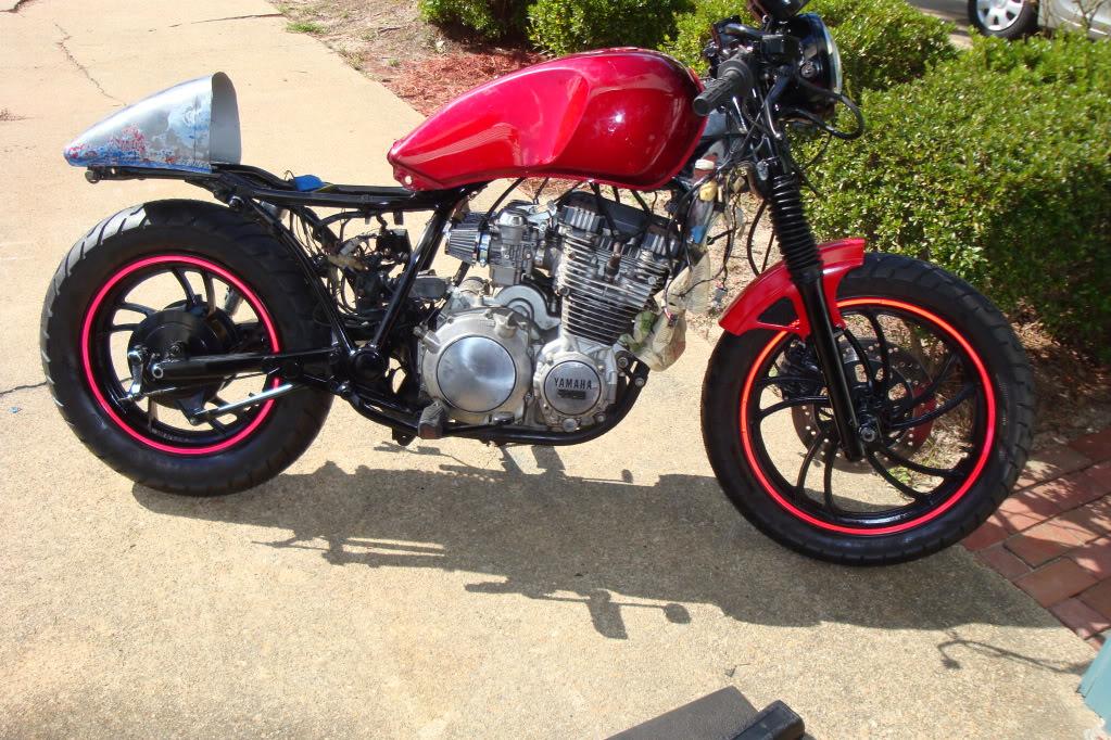 & 1982 xj650 build