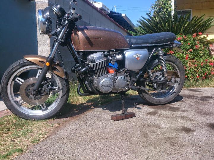 1972 Honda Cb750 Exhaust