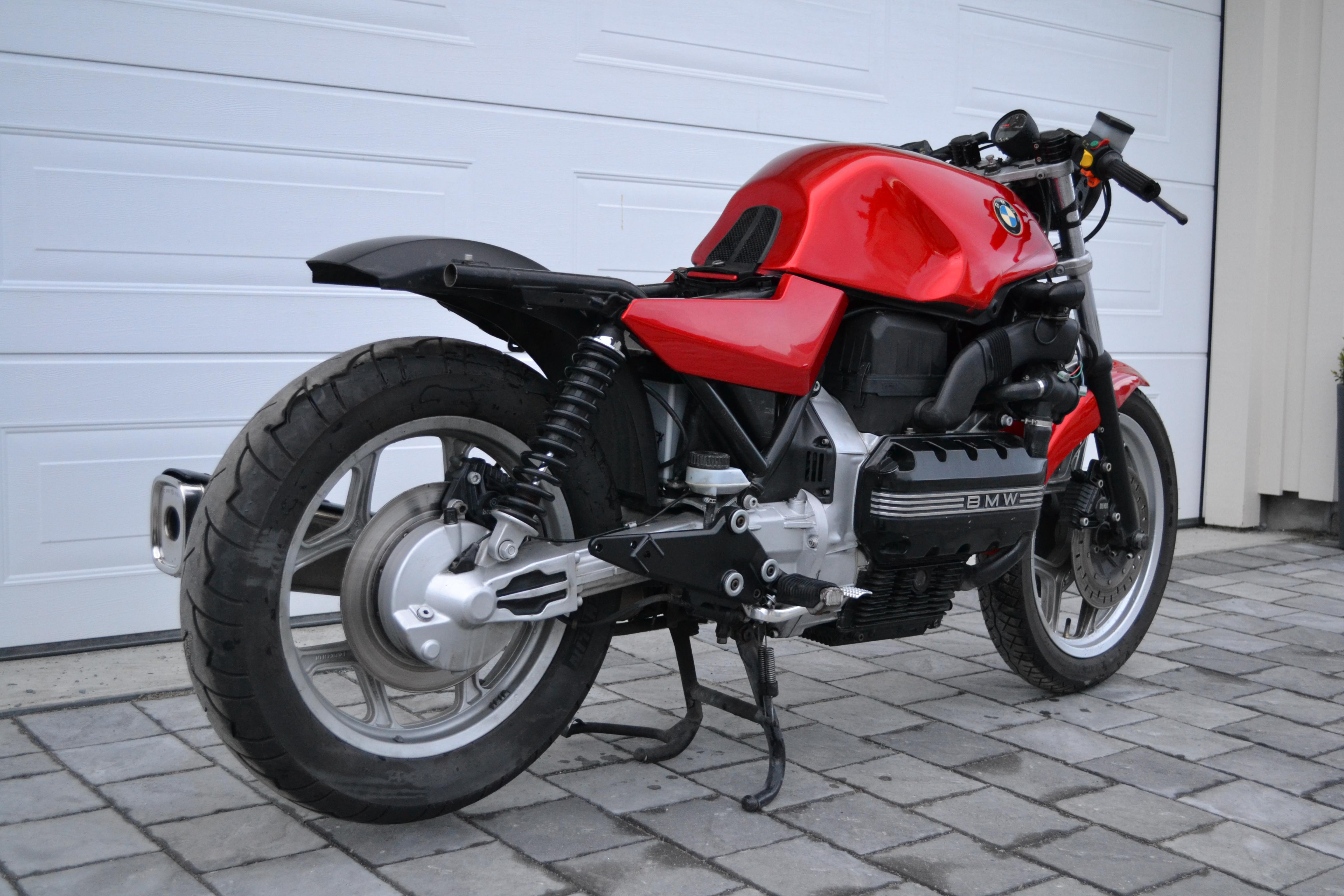 der rote baron bmw k100 cafe racer. Black Bedroom Furniture Sets. Home Design Ideas