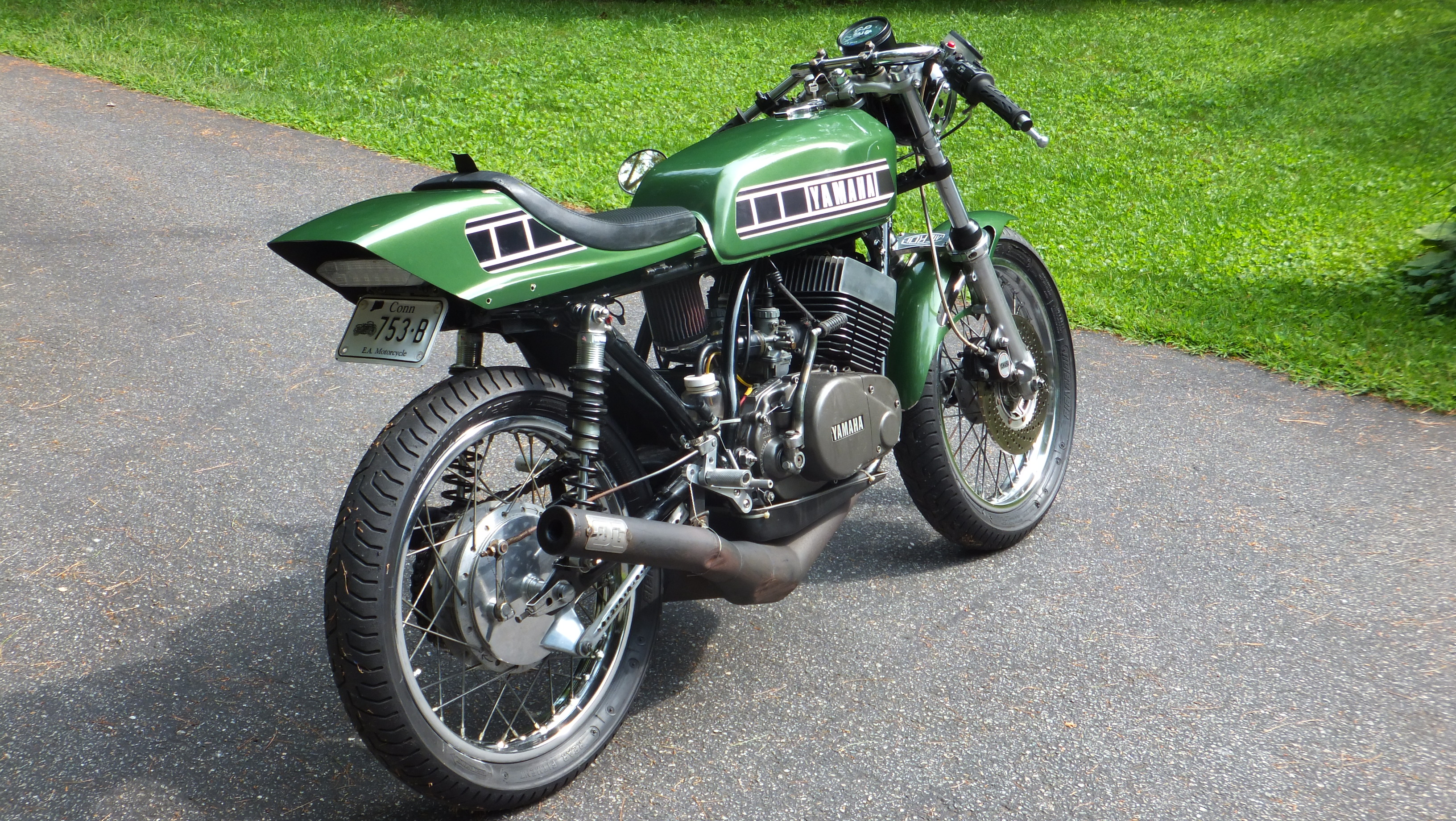 1976 Yamaha RD400 Caf Racer or Vintage Race Bike