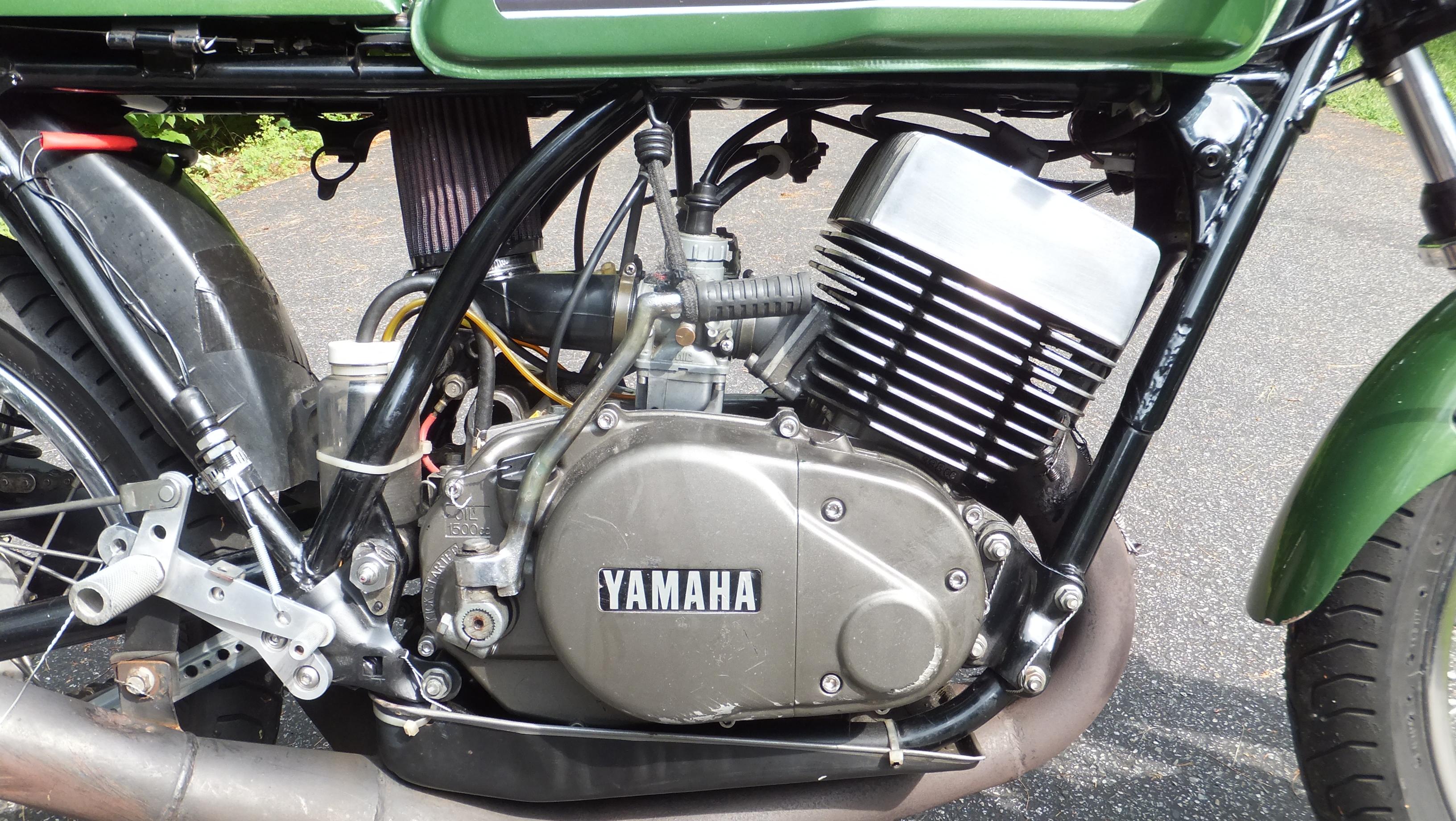 1976 Yamaha RD400 Caf Racer or Vintage Race Bike
