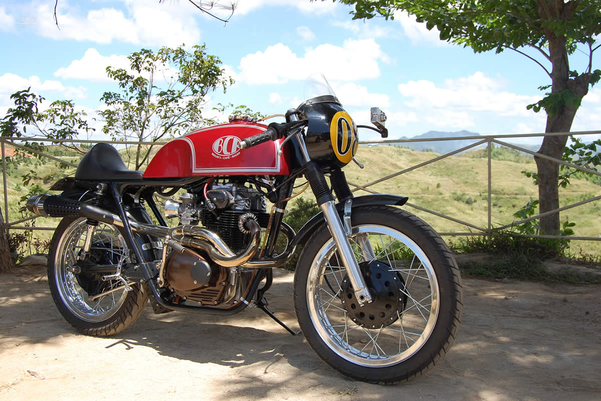 1976 Honda CB360T cafe...