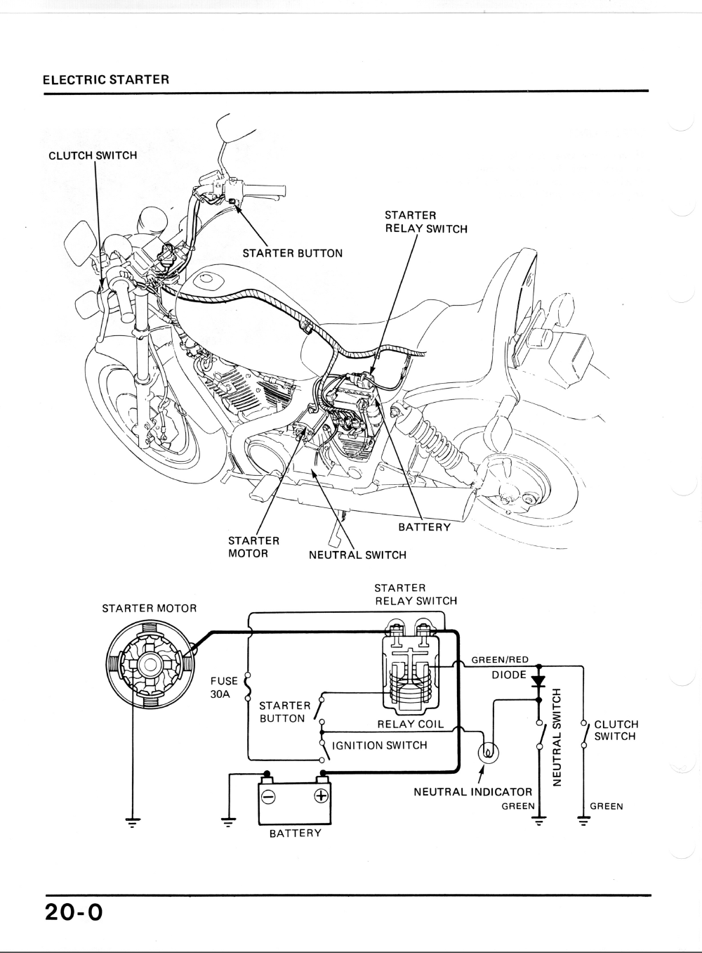 Wiring Diagram Honda Lead : Honda shadow