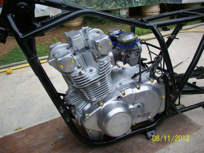 Suzuki Tux Cafe Racer Parts