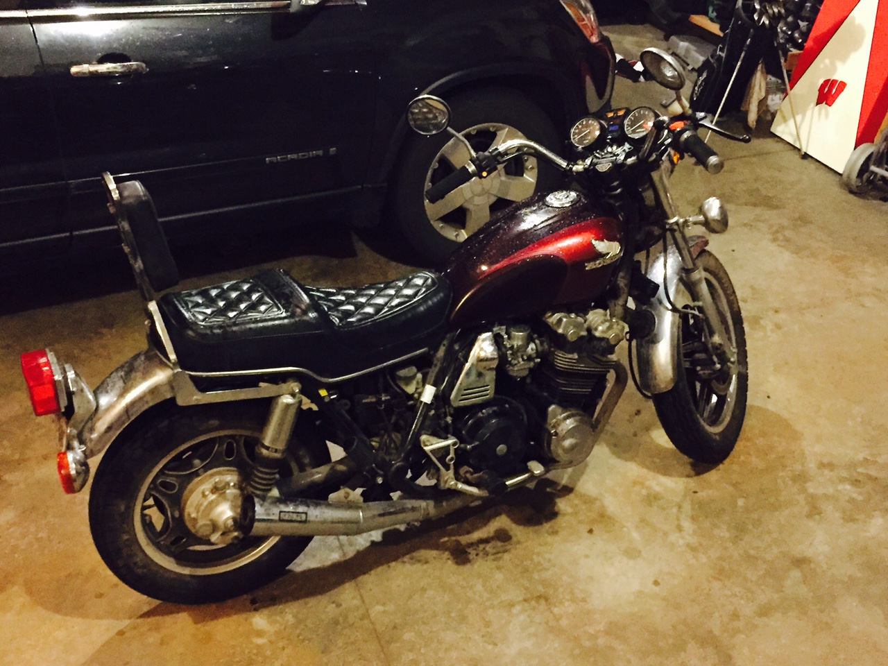 cb900 cafe racer project