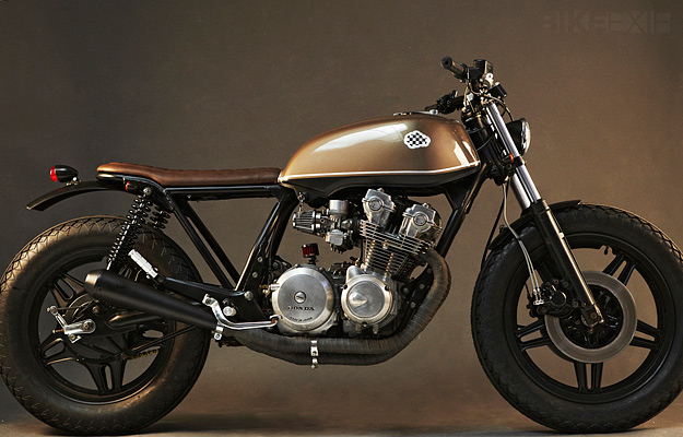 honda cb250 cafe racer project - page 2