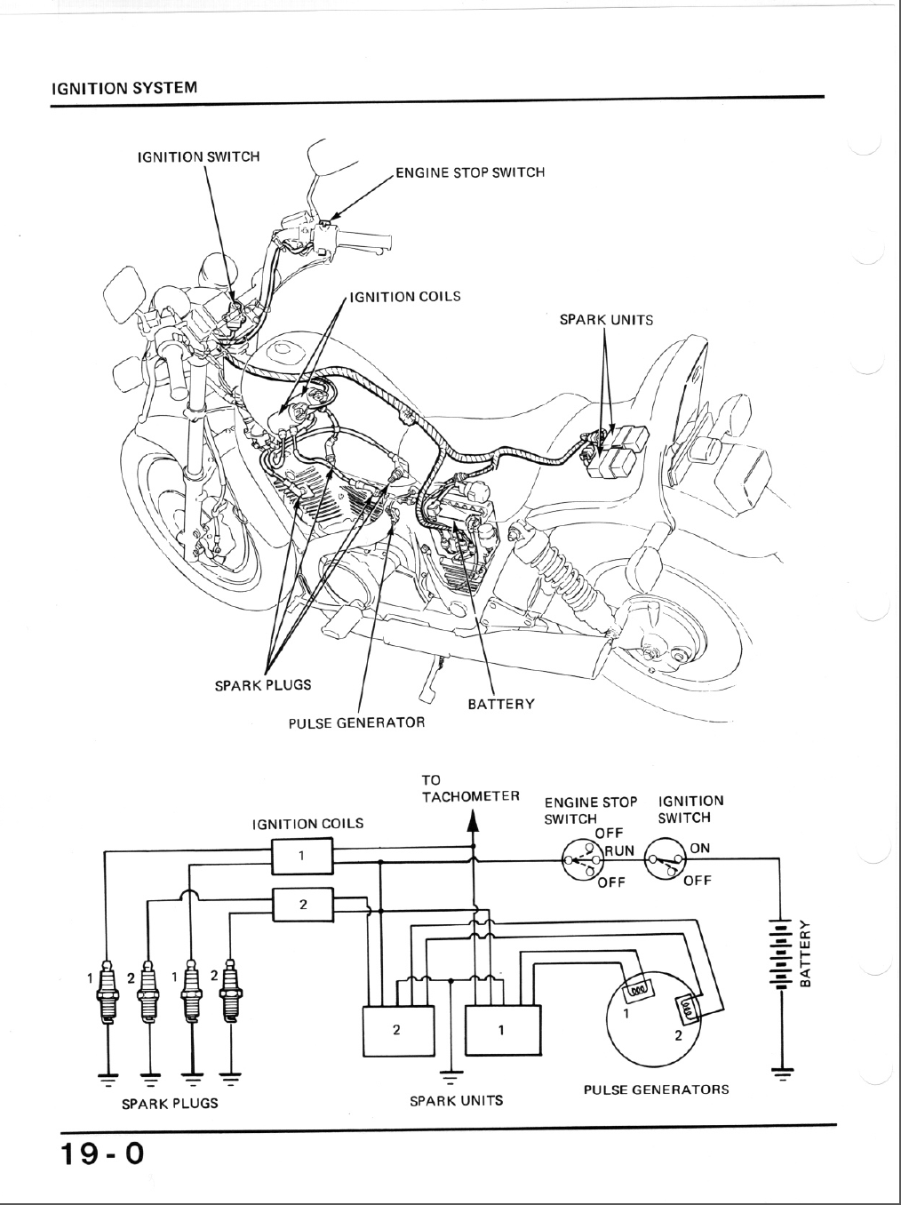 D Honda Shadow Ignition System on 1983 Honda Shadow 750 Wiring Diagram