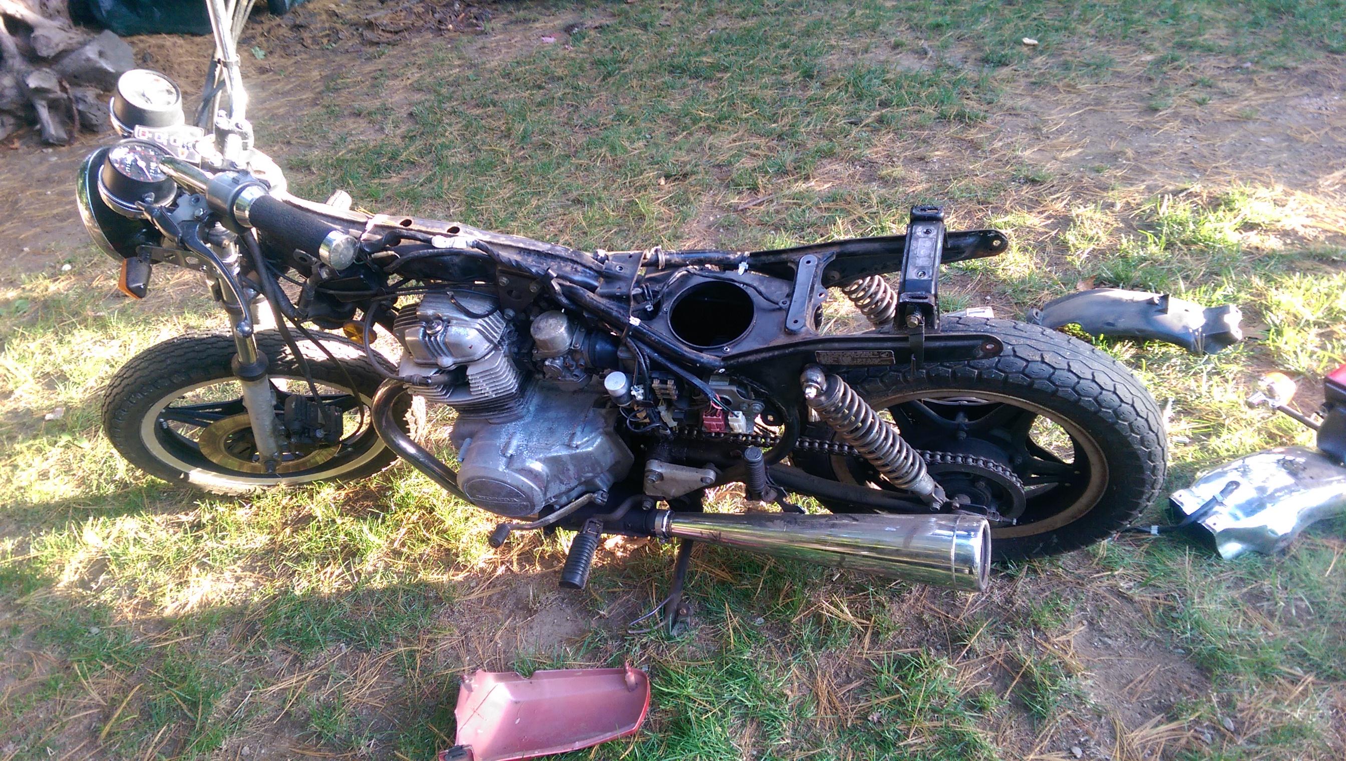 Cmt Cafe Racer Parts