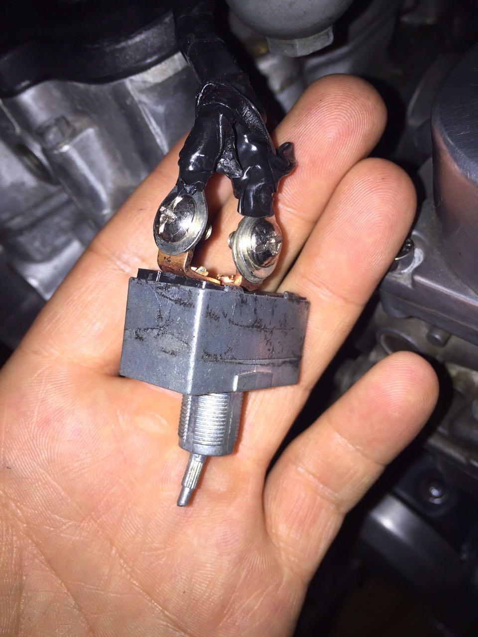 Cb650 Ignition Switch Thread Wire Help