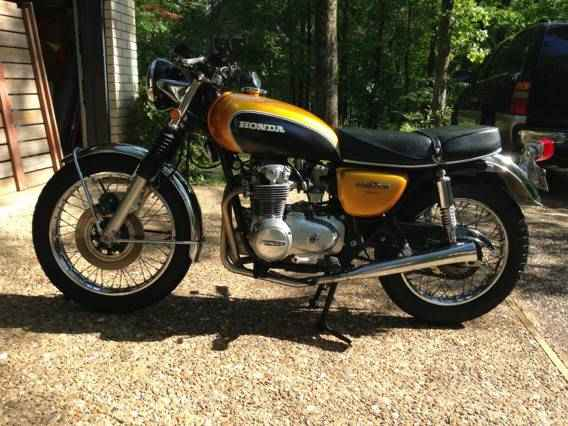 First Project 1972 Honda CB500 F
