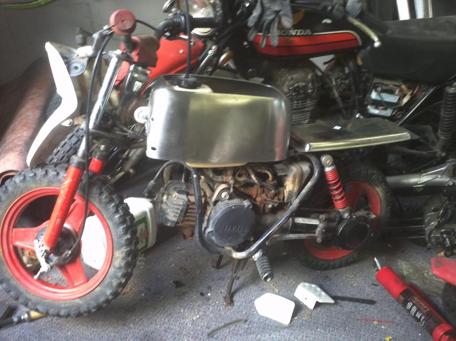 Cafe Racer Project Start To Finish