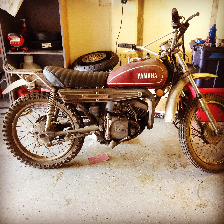 Yamaha  Dtmx Cafe Racer