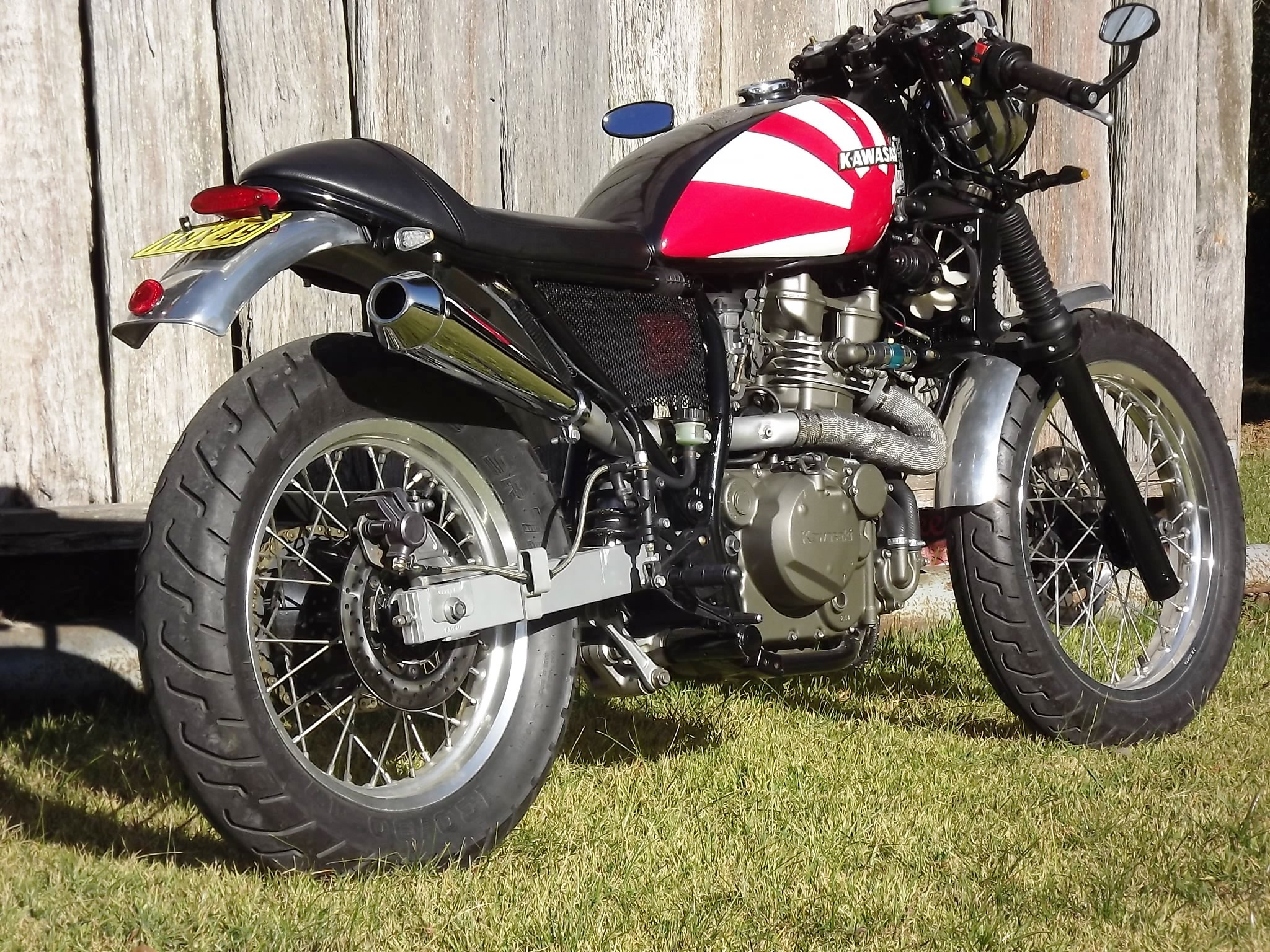 Name Michaels KLR650 Cafe Racer 6 Views 20974