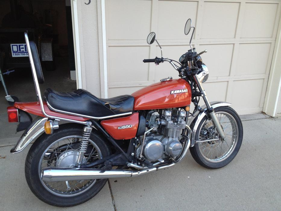 getting started with the 1978 kz650 b