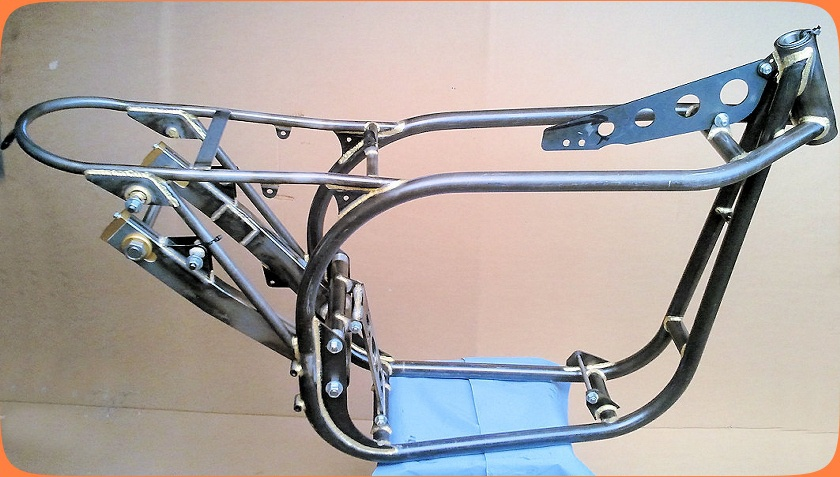 fitting a harley evo 96 into a cafe racer frame - page 2