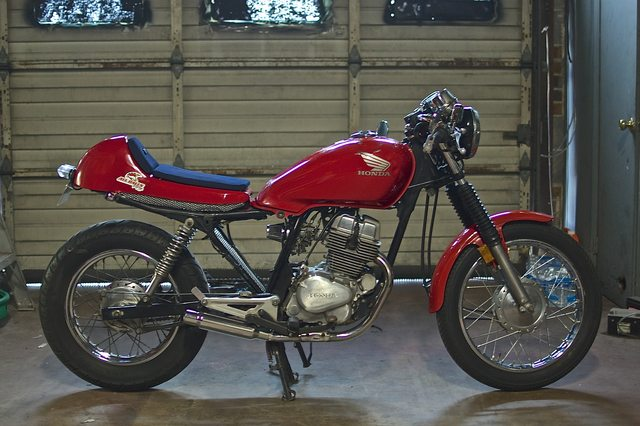 honda cb250 cafe racer project