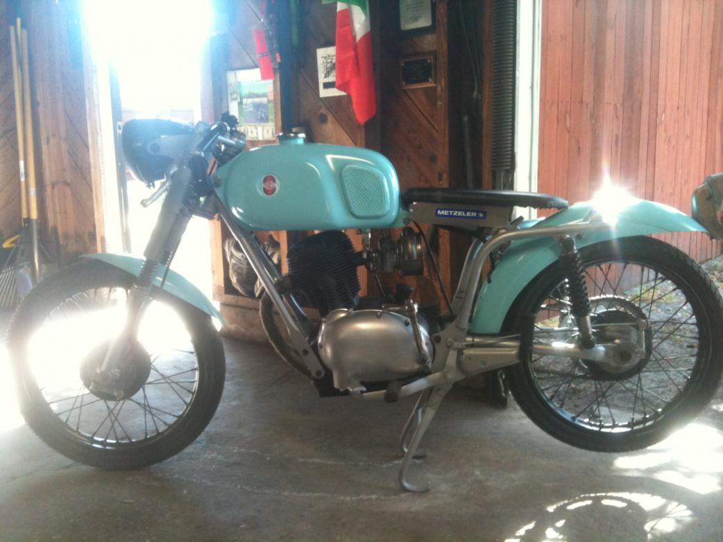 Motorcycle For Sale Az >> 1967 Gilera SEARS 106 c.c.