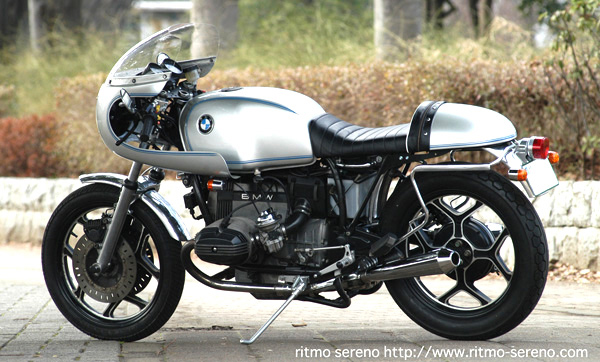 I want to build a BMW Cafe Racer