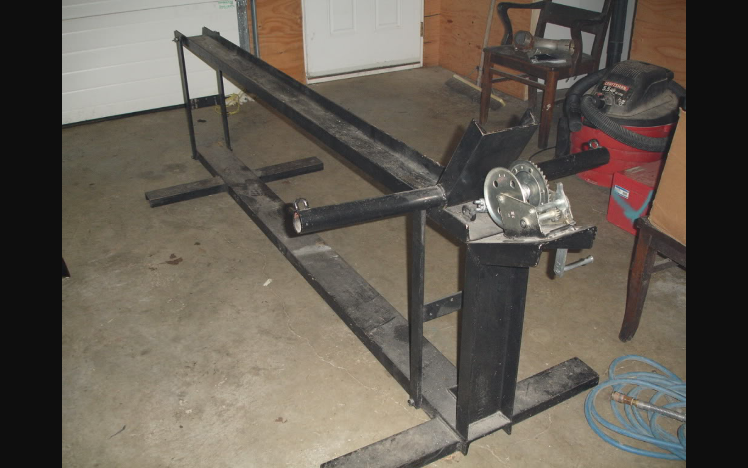 Making a Motorcycle lift table