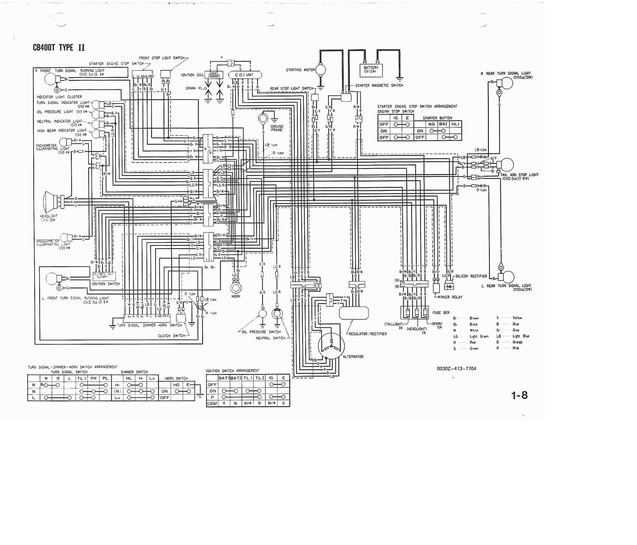 78 cb400 wiring diagram another blog about wiring diagram u2022 rh ok2  infoservice ru