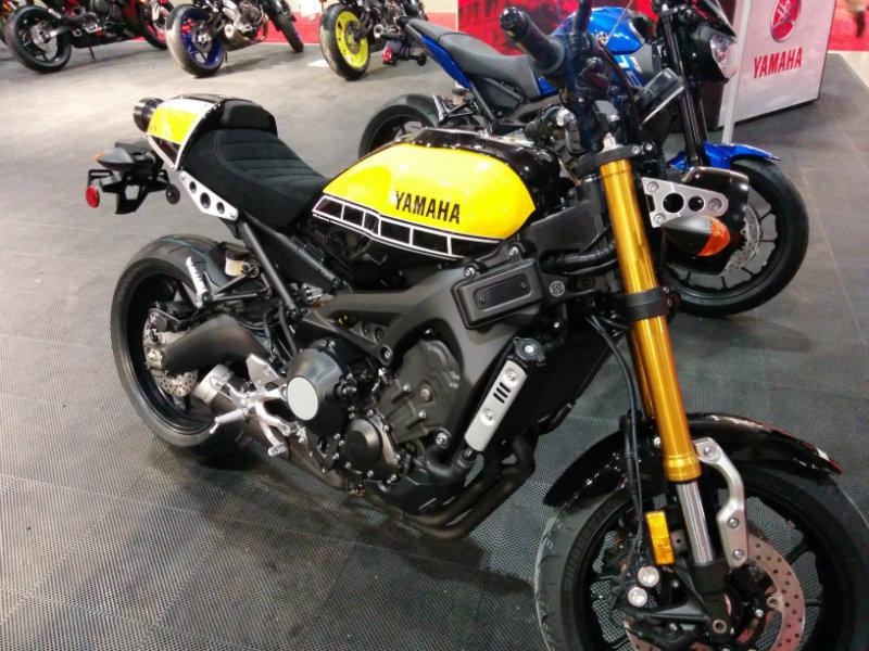 XSR900 Black N Yellow