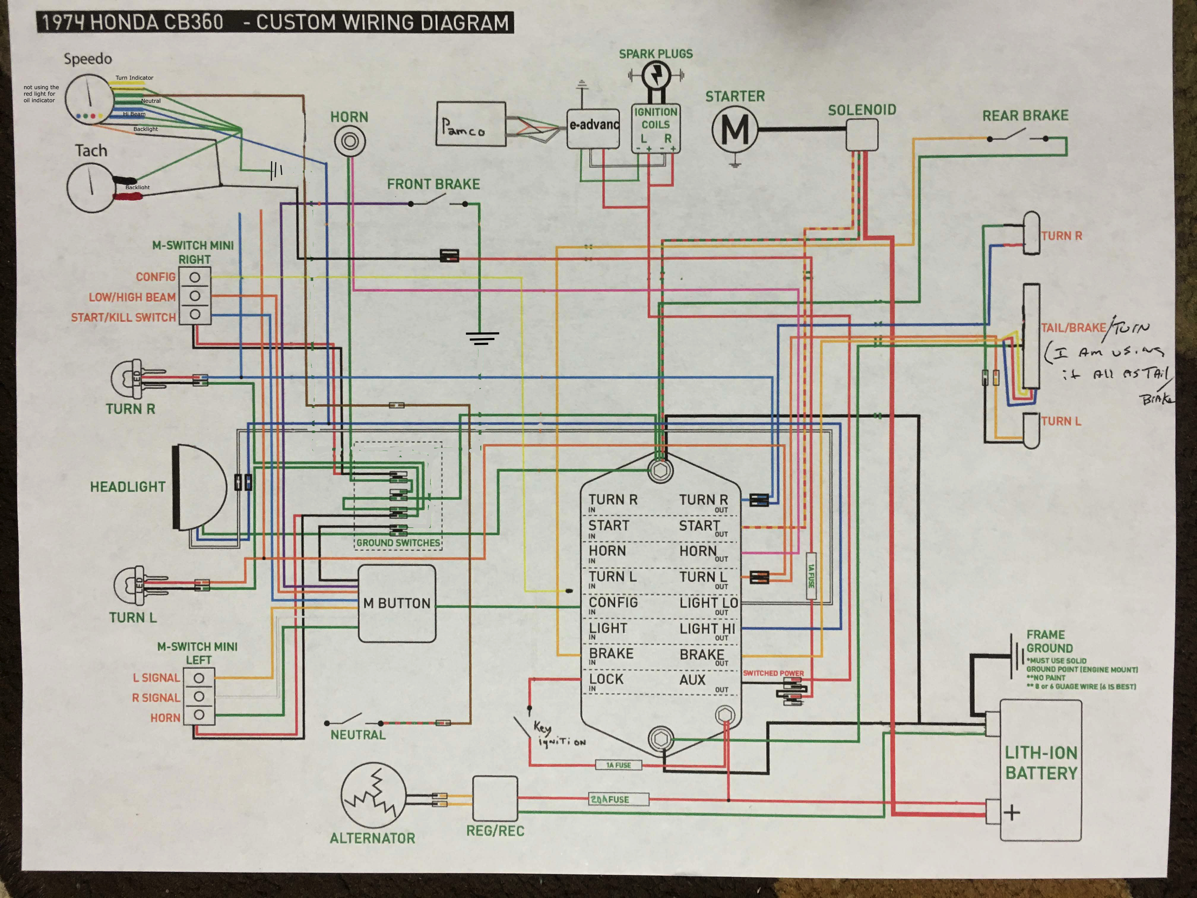 Magnificent Honda St90 Motorcycle Wiring Diagrams Festooning ...