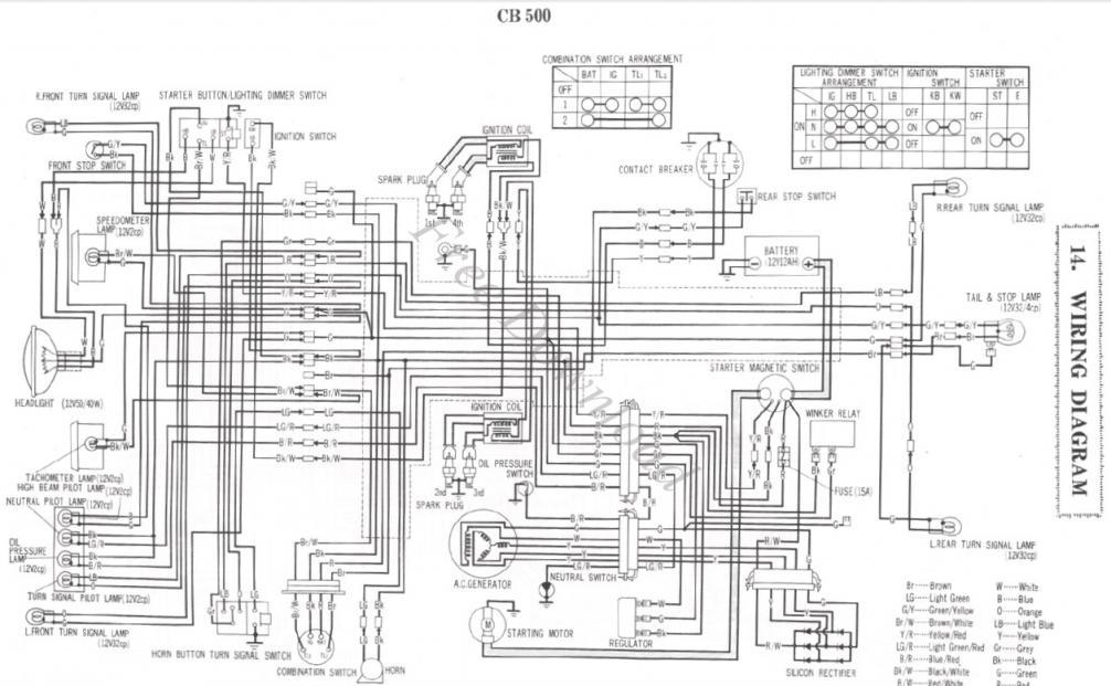 72 Honda Z50 Wiring Diagram Nilzanet – Honda Ct70 Wiring Diagram