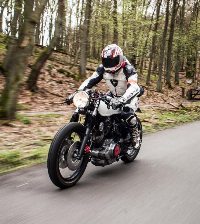 R6 Cafe Racer Motorrad Bild Idee