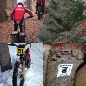 Trials riding stuff