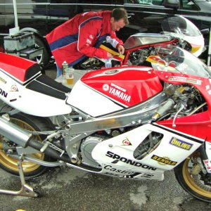 Spondon Yamaha FZ 1986 ex World F1 TT