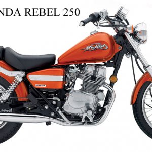 3rd bike. The first brand new bike I ever bought was an 06' rebel 250. I went to the dealership looking for a new Magna only to be told they stopped m