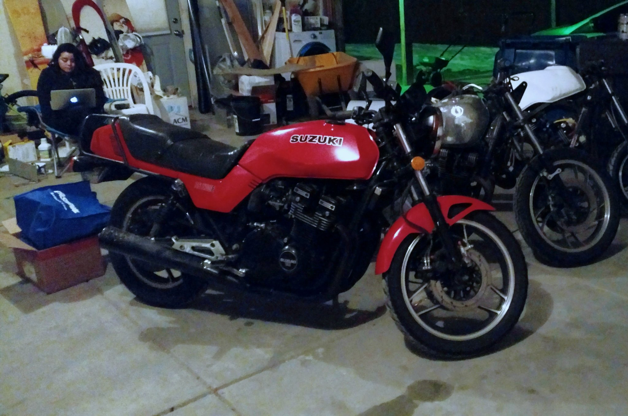 83 Gs1100 Before