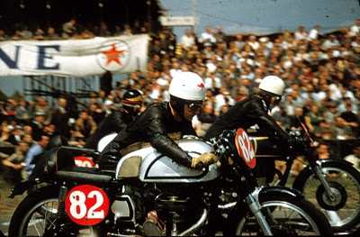 AS THEY WERE  Dutch T T 1956 No82 Barry Hodgekinson (later bike used by TOM PHILLIS) & Fred Cook