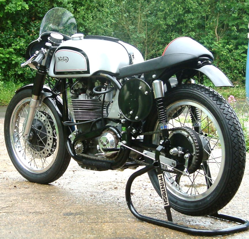 Manx Norton 500 ex Bert Schneider following full restoration.