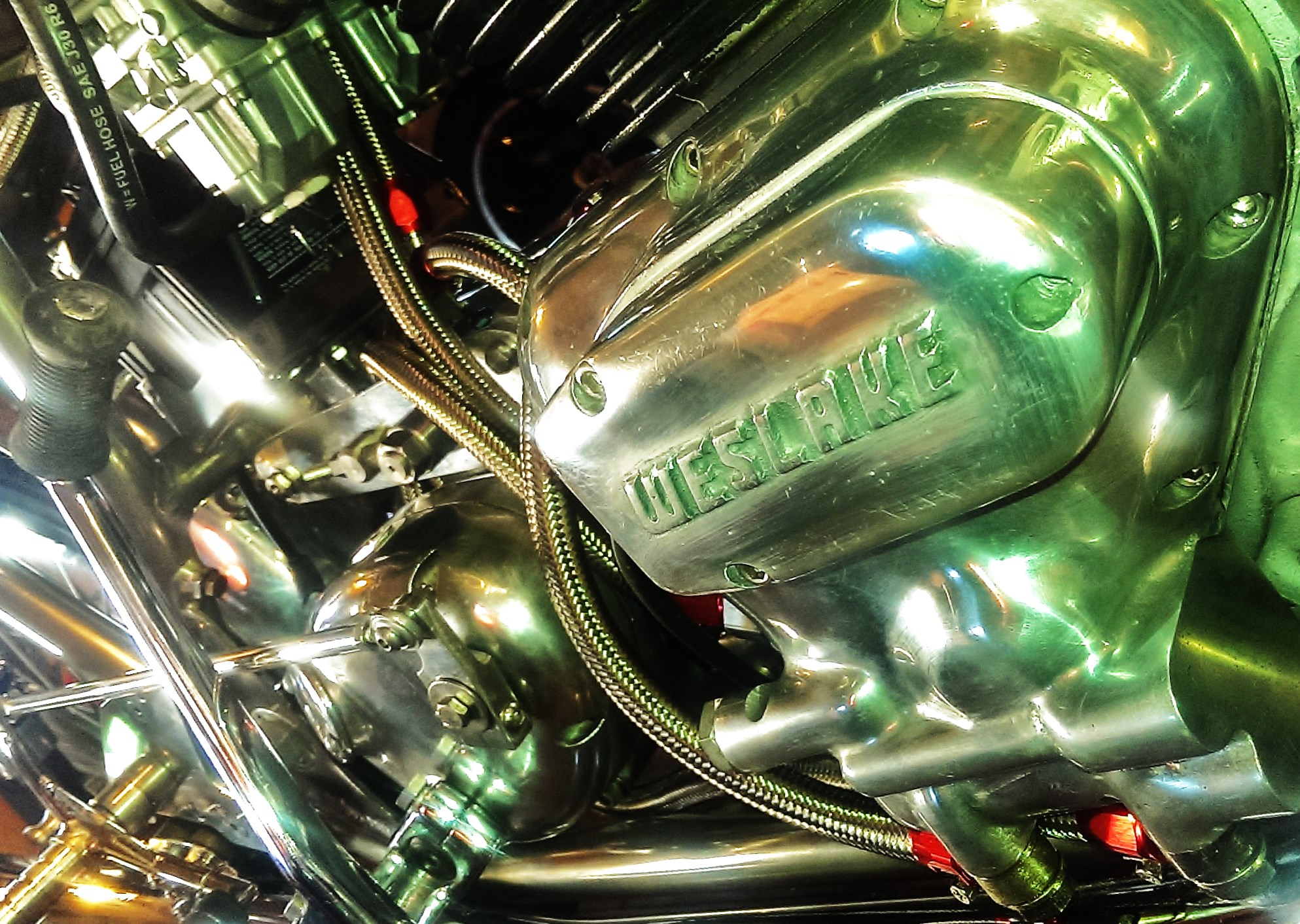 Rickman Weslake 750, close to being finished.