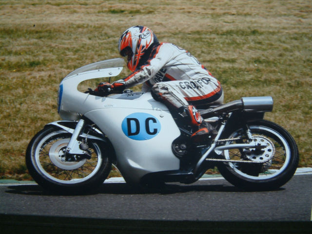 Seeley mk3 G50 Ex Dunlop, Shimmin, latterly Croxford.